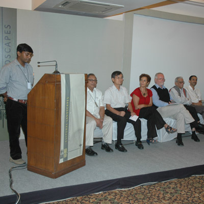 CULTURAL LANDSCAPES<br> ANNUAL CONFERENCE 2011, AHMEDABAD