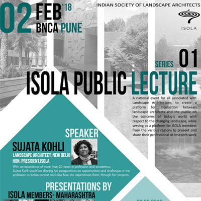 SERIES 01: ISOLA PUBLIC LECTURE
