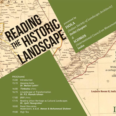 Reading the Historic Landscape - 2014