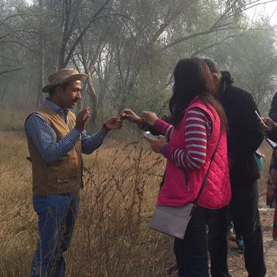 Walk Series<br>Yamuna Biodiversity Park - 2015-2016
