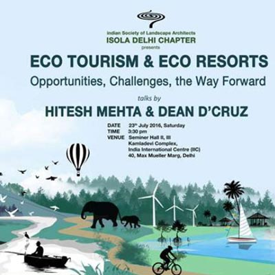 Eco Tourism and Eco Resorts - July 2016