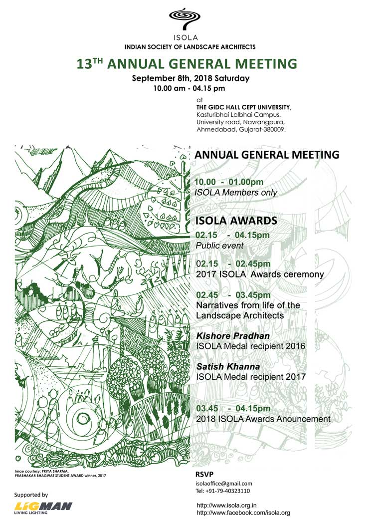 Events, Workshops, Seminars | INDIAN SOCIETY OF LANDSCAPE