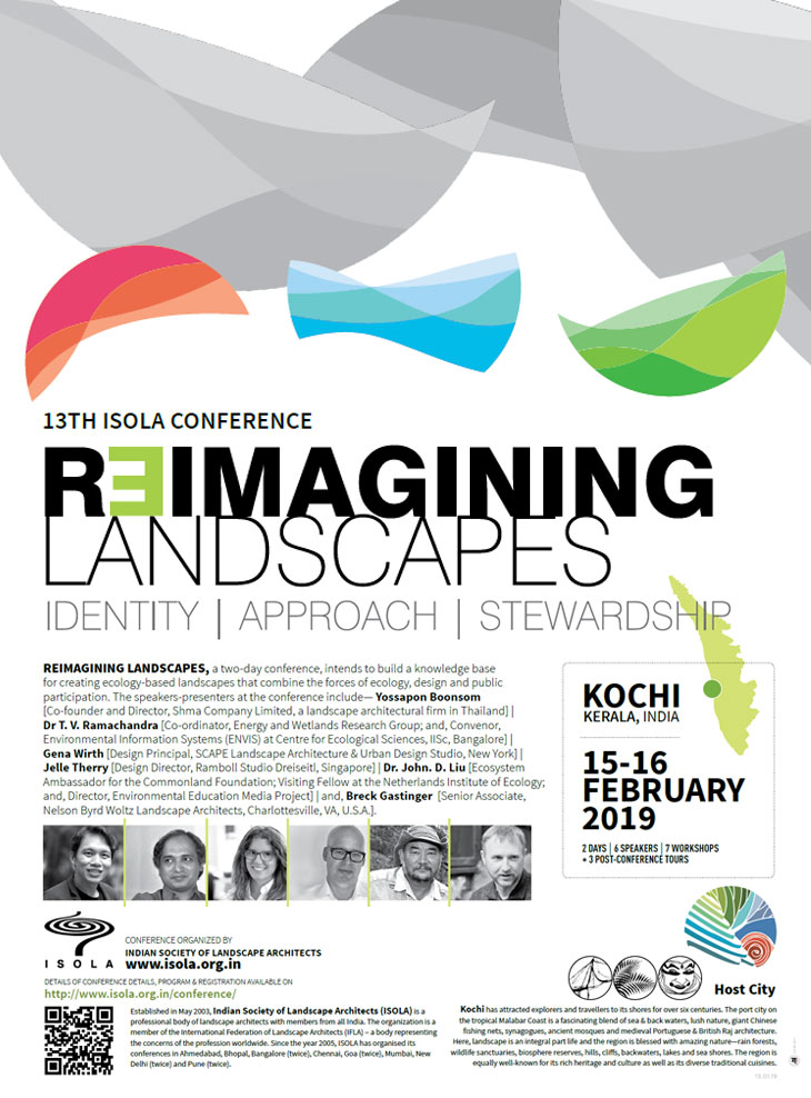 Annual Conferences | INDIAN SOCIETY OF LANDSCAPE ARCHITECTS